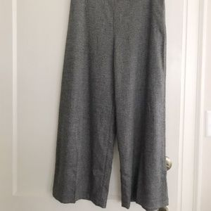 Zara Wide Leg Tweed Trousers